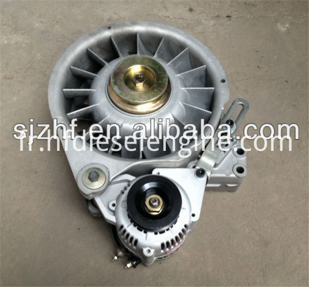 FL511 fan alternator support assy