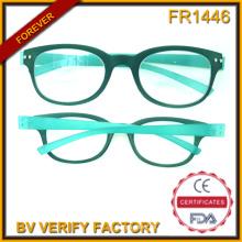 Fr1446 Ultra dünne hochwertigem Kunststoff Rahmen Lesebrille Made in China