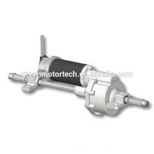 electric wheelchair motor 12v dc with axle
