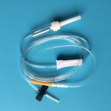 Medical IV Infusion Set with Flow Regulator