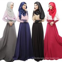 Middle East fashion 2017 women soft cheap cotton new dubai designs islamic dress abaya