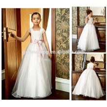 Guangzhou Factory Elegant Dresses for Girls Wedding Formal Dresses A-Line Designs Flower Girl Dress of 9 Year Old Patterns