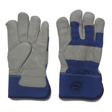 Cow Grain Leather Winter Working Warm Gloves