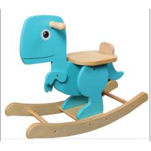 Dinossauro de cavalo-madeira