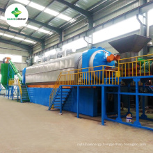 The Latest Technology 30T Continuous Waste Tire Pyrolysis Plant To Oil With Engineers Installation