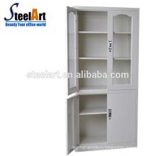 хранение xxxn шкафа стеклянная дверь металл шкаф
