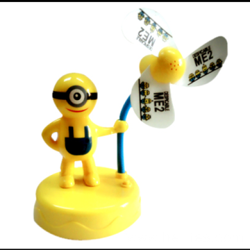 Customized Promotional Gifts Fan for Minions