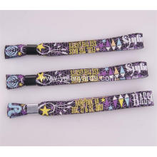 30CM Length Cute Custom Polyester Wristbands