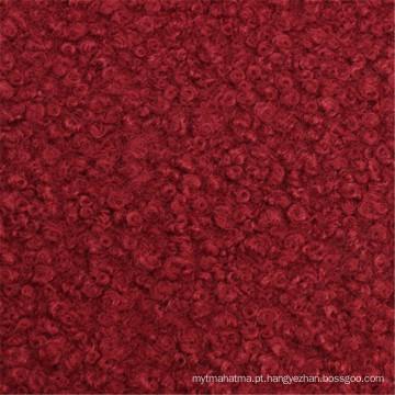 60% Poliéster 40% Lã de Sobretudo Tecido de Lã