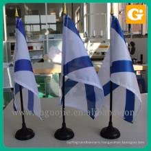 Factory supplier polyester bangladesh table flag