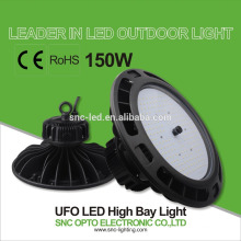 5 years warranty 150w UFO high bay light for warehouse light replacement
