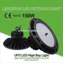 5 лет гарантированности 150W НЛО высокий свет залива для пакгауза замена света