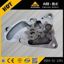 Bomba de aceite KOMATSU PC60-7 6204-51-1100
