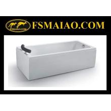 Banheira de massagem acrílica acrílica de pé (BA-8707)