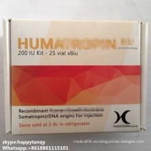Péptidos 191AA Gh 8iu 10iu Hum Hyg esteroides Sarms