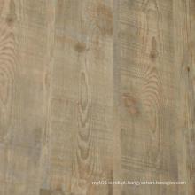 Telha de assoalho rústica do PVC / revestimento de camadas soltas de vinil