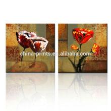 Inicio Productos Arte de pared Lienzo Pintura / Moderna Flor Pintura Lienzo / Pintura Arte