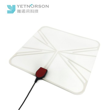 China Wholesale Ultra-thin Omnidirectional Amplified Digital Indoor HDTV Antenna Ubiquity