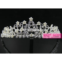 Novo design cabelo jóias joias de cabelo tiara de noiva