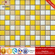 Китай производство поставить смешанное спальня плитка кухня стеклянные плитки мозаики