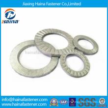 DIN25201 dacromet double pli rondelles autobloquantes, rondelle de blocage