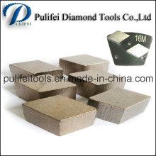 Высокий бетонный сегмент измельчения твердых Кобальтовых для пола восстановление покрытия