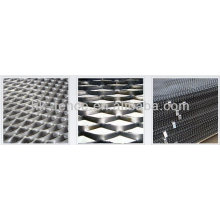 Hoja de metal perforada flexible / hojas perforadas hexagonales (fábrica)
