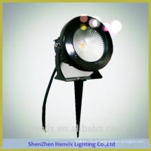 Elevado lúmen ao ar livre 110 volts de alta qualidade levou jardim iluminação pole luz