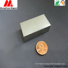 Sintered Permanent Huge Block NdFeB Neodymium Magnet for Motors