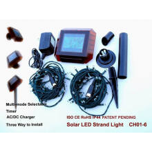 Holiday Decoration Solar String Light with CE and RoHS Certification