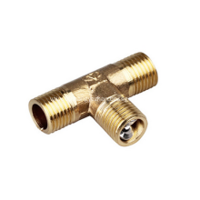 Outer Spiral Tee Brass Joint Fittings