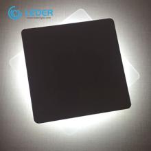 LEDER Aluminum black Square box modern indoor wall light