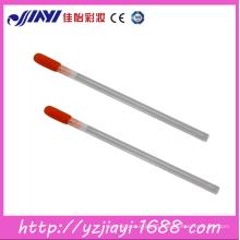 disposable colourful lip gloss cotton head rotating pen