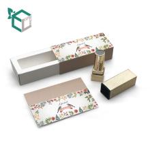 Großhandels-Papier Eco-freundliches kosmetisches Kasten-Rohr für Lippenstift-Lippenbalsam
