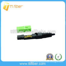 Field SC APC singlemode fiber optic fast connector