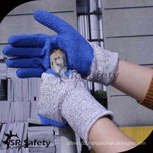SRSAFETY High grade Cut Resistant Gloves /Anti-cut gloves/cut resistant hand glove