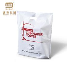 Логотип бренда напечатаны пластиковые молоко упаковка мешок с отверстием пунша ручка