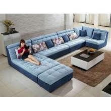 Neuer Stil, große U-Form-Stoff-Sofa (W11)