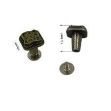 Dongguan hardware modificó el tornillo antiguo del remache del metal de Finshing