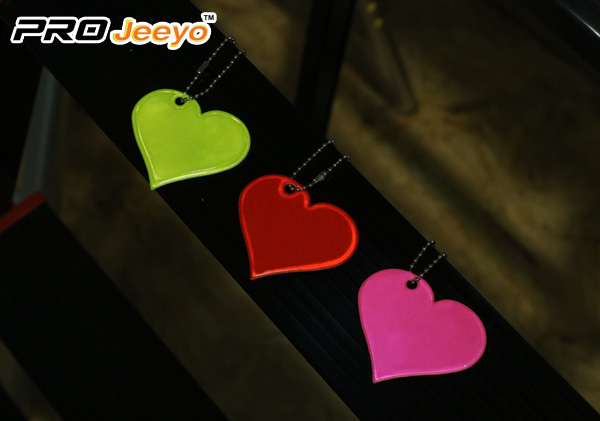 Red Heart Shape Love Pvc Pendant Rv 201 5