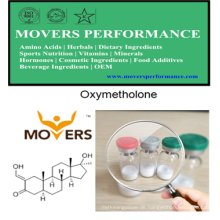 Hohe Reinheit Oxymetholon heißes Steriods-Pulver HPLC geprüft