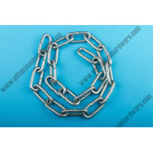 China Manufacture Rigging Electric Galvanized Carbon Steel Medium Link Chain