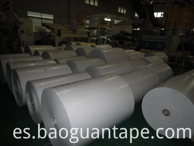 Single Side Pe Coated White Paper