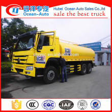 6 * 4 Sinotruk Howo 20000 litros caminhão tanque de água
