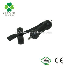 Aluminum car emergency window breaking tool with whistle