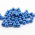 Ambiental plástico solto pérola poderia personalizar em linha reta buraco grande atacado todos os tipos de pérola abs redonda pérola