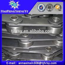 Hollow Pin Cadenas de aceite de palma Paso 101.6mm y 152.4mm