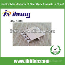 Faseroptik-Adapter LC Quadruplex-Metall mit hoher Qualität