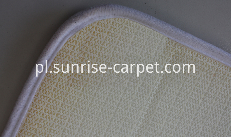 Bathmat with unti-slip backing