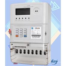 Three Phase Sts Keypad Prepaid/Prepayment Meter with GPRS Module